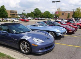 2018 Corvettes on Woodward event is August 15th – 18th
