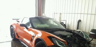 [ACCIDENT] 2019 Corvette Grand Sport Wrecked with Just 15 Miles on Odometer