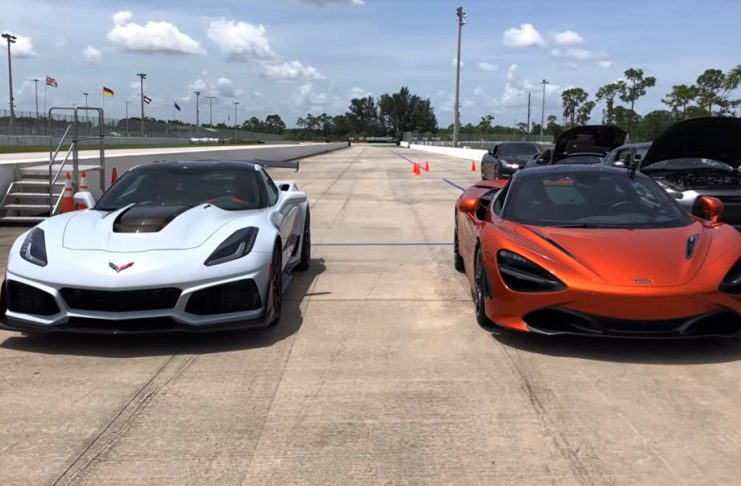 [VIDEO] Corvette ZR1 vs MacLaren 720S is What Everyone is Talking About