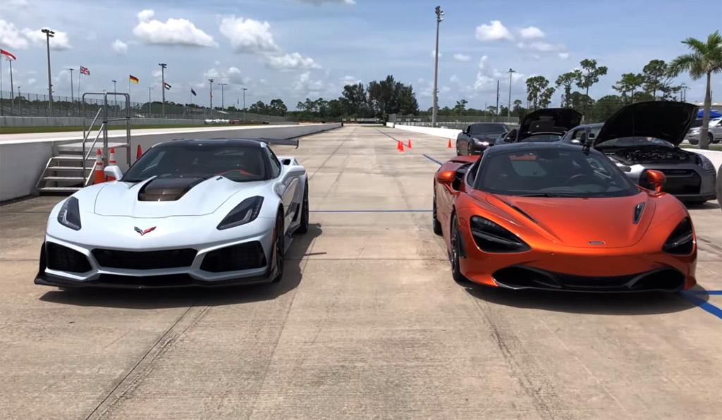 [VIDEO] Corvette ZR1 vs McLaren 720S is What Everyone is ...