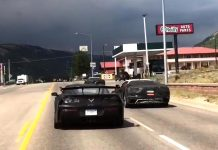 [VIDEO] Watch as this Corvette ZR1 Blocks the View of These C8 Mid-Engine Corvettes