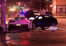 [VIDEO] Corvette Driver Facing Charges After Fleeing Police and Crashing into Two Other Vehicles