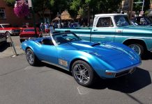 [STOLEN] Police are Searching for this 1972 Custom Corvette Convertible in Washington