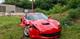 [STOLEN] Teenage Carjacker in a Stolen Corvette Crashes Into Multiple Vehicles During Police Chase