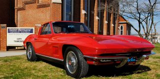 Last Call for Tickets to Win a 1967 Corvette in the St. Bernard's Classic Corvette Raffle