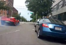 [VIDEO] Cyclist Captures Police Pursuit of Teenage Carjacker in a C7 Corvette During IRL Stream