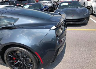 [PICS] First Look at the 2019 Corvette's New Shadow Gray Exterior