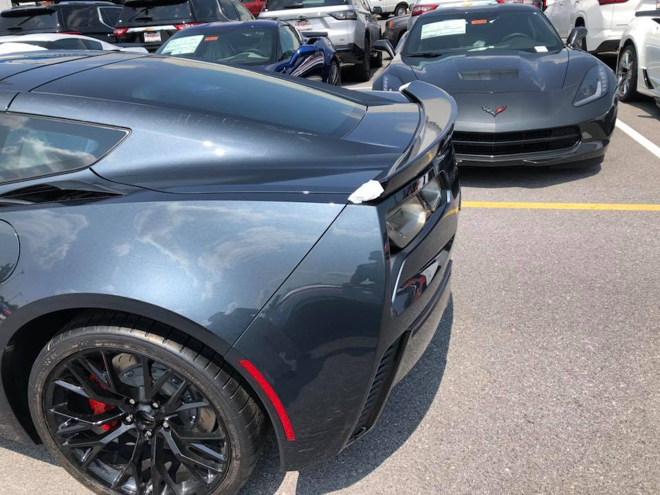 Corvette C6 For Sale >> [PICS] First Look at the 2019 Corvette's New Shadow Gray Exterior - Corvette: Sales, News ...