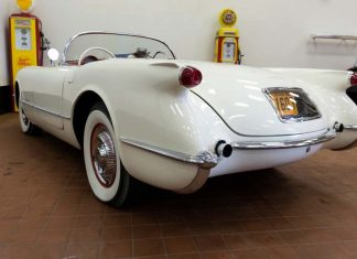 1953 Corvette VIN 268 to be Offered at No Reserve at Vicari's New Orleans Sale
