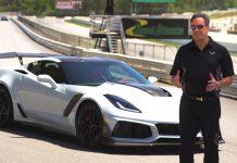 GMs Mark Reuss Says 'Very Proud of C8 Corvette' During Corvette ZR1 Ride and Drive