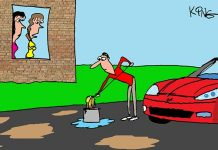 Saturday Morning Corvette Comic: Mopping Up This Town!