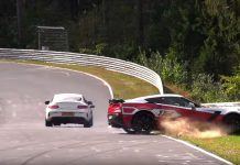 [ACCIDENT] C7 Corvette Z06 Crashes During an Open Track Session at the Nurburgring