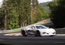 [VIDEO] Watch the C8 Mid-Engine Corvette Testing on the Nurburgring