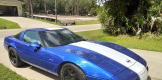Corvettes on Craigslist: 1996 Corvette Grand Sport Coupe Wearing VIN #16