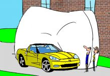 Saturday Morning Corvette Comic: My Baby Deserves to Be Comfortable