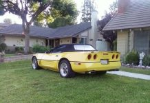 High Mileage! 1987 Corvette Convertible on AutoTrader Has 330,000+ Miles on the Odometer
