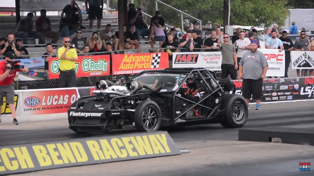 [VIDEO] Leroy the Savage Vette Kart Action at LS Fest ...