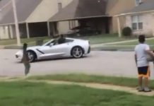 [VIDEO] People Not Happy With Corvette Driver's Stunting on Neighborhood Streets