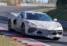 [VIDEO] Sounds of the C8 Mid-Engine Corvette on the Nurburgring