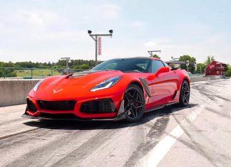 2019 Corvette ZR1 Dominates at Car and Driver's Lightning Lap 2018