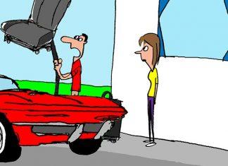 Saturday Morning Corvette Comic: This Sucks!