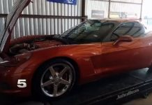 [VIDEO] This Texas-Sized Pothole Caused $800 Damage to a Man's C6 Corvette