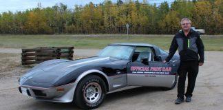 A $10 Ticket Wins a Canadian Man a 1978 Indy 500 Corvette Pace Car