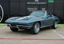 Corvettes on eBay: 1967 Corvette Convertible Test Car