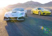[VIDEO] Edmunds Reviews 2019 Corvette ZR1 vs Porsche 911 GT3