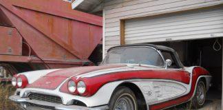 Corvettes for Sale: Psychedelic 1961 Corvette Found North of the Border