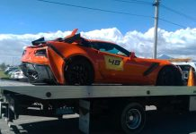 [ACCIDENT] 2019 Corvette ZR1 Crashes During Track Day in Puebla Mexico
