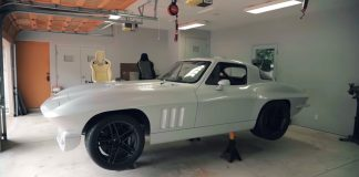 [VIDEO] 1966 Corvette Coupe Competing in 2018 SEMA Battle of the Builders