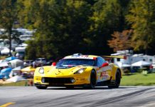 Corvette Racing at Road Atlanta: No. 3 Corvette Qualifies on GTLM Front Row