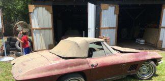 Corvettes on eBay: True 1967 Corvette Barn Find in Georgia