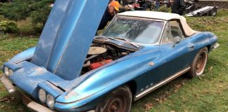 [VIDEO] One-Owner 1965 Corvette Sting Ray Brings $21K at Backyard Estate Auction