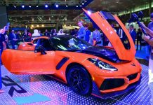 The 2019 Corvette ZR1 Arrives in Qatar