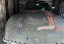 Corvettes on eBay: Unrestored 1971 Corvette Stingray with LT1