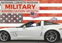 November is Military Appreciation Month at the National Corvette Museum