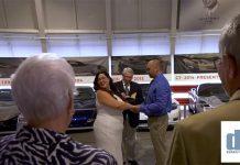 Corvette Couple Says 'I Do' in the National Corvette Museum's Sky Dome