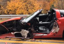 [ACCIDENT] Emergency Workers Free Corvette Driver after Two Vehicle Collision in Pennsylvania