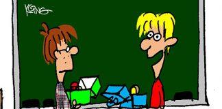 Saturday Morning Corvette Comic: The Teacher's Vette