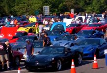 [VIDEO] Kerbeck Celebrates 15 Years of its Toys for Tots Corvette Caravan