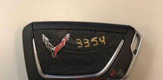 C8 Corvette Keyfob and Logo