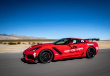 [VIDEO] Ron Fellows Takes a Hot Lap at Spring Mountain in the 2019 Corvette ZR1