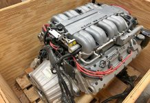 Original, Sealed LT5 engine for a 1995 Corvette ZR-1 Offered on the Facebook Marketplace