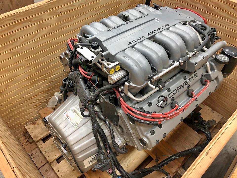 Original, Sealed LT5 engine for a 1995 Corvette ZR-1 Offered on the  Facebook Marketplace - Corvette: Sales, News & LifestyleCorvetteBlogger