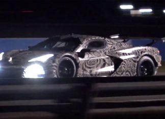 [VIDEO] Corvette C8.R Night Testing at Sebring