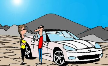 Saturday Morning Corvette Comic: There's Always a Better Parking Spot