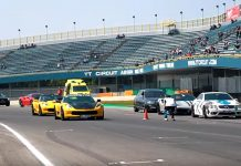 [VIDEO] Corvettes and Other Supercars Take Over the TT Circuit Assen in the Netherlands