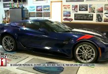 [VIDEO] Corvette Owners Unhappy with New Front License Plate Law in North Dakota